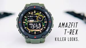 <b>Amazfit T</b>-<b>Rex</b> Army Green Unboxing - BEST LOOKING AMAZFIT ...