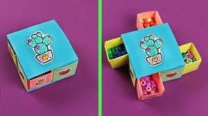 потрясающая <b>коробочка для мелочей</b> из бумаги без клея!
