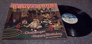 "<b>Baby's Gang</b> ""<b>Challenger</b>/Happy Birthday"" GATEFOLD MEMIX LP ..."