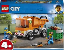 <b>Конструктор LEGO</b> City Great Vehicles <b>60220 Мусоровоз</b> — купить ...