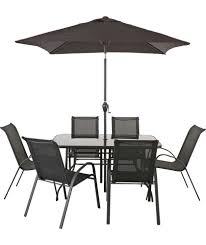 patio table and 6 chairs: garden table and chairs patio furniture sets and table and chair sets on pinterest