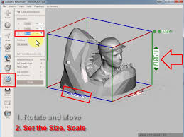 Rotate and <b>adjust</b> Size before 3D-<b>printing</b> - YouTube