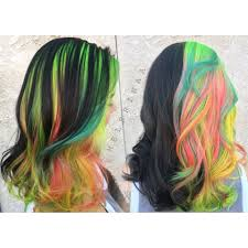 "dr jekyll and mr hyde"" hair lets you rock natural hair and ""dr jekyll and mr hyde"" hair lets you rock natural hair and rainbow hair at the same time"
