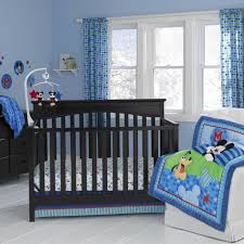 image of mickey mouse crib bedding set for baby baby mickey crib set design