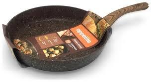 <b>Сковорода Appetite</b> Brown Stone BR2201 <b>20 см</b> — купить по ...