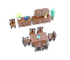 Lego Furniture Lego Ideas Minifig Furniture Dining Room