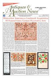 Antiques & Auction News 012414