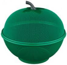 """<b>Фруктовница</b> Regent Inox """"Pronto"""", с <b>крышкой</b>, цвет: зеленый ..."""