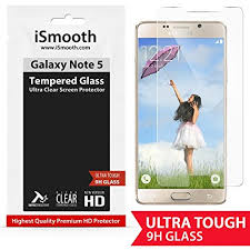 galaxy note 5 screen protector premium tempered glass ultra clear that gives optimal screen protection against amazoncom tempered glass