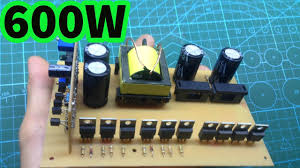 <b>SMPS 12V</b> - <b>24V</b> to -40V + 40V for car amplifier inverter - YouTube