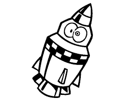 Small Picture Rocket with eyes coloring page Coloringcrewcom