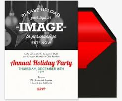 christmas online invitations holiday upload image invitation