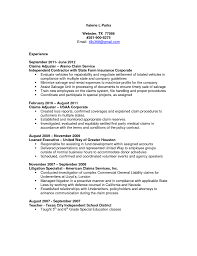 resume for claims adjuster  new resume for claims adjuster 93 in coloring print resume for claims adjuster