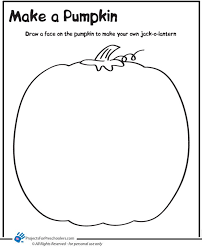 Small Picture Coloring Pages Of Pumpkins Miakenasnet