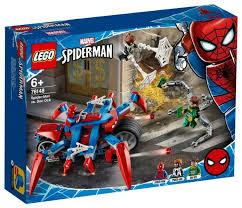 <b>Конструктор LEGO Marvel Super</b> Heroes 76148 Человек-Паук ...