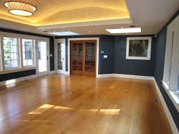 tray ceiling with led cove lighting leather finish walls cherry doors floor transitional ceiling tray lighting