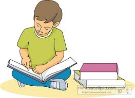 Image result for kid reading clip art