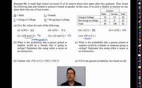 Common Core Algebra II Unit    Lesson   Adding Probabilities   YouTube YouTube