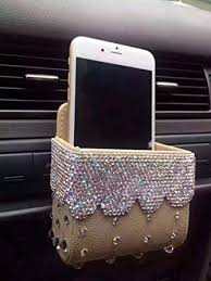 TISHAA Bling Bling Car Air Vent Mobile Cellphone ... - Amazon.com