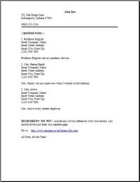 how to create a resume reference list   example good resume templatehow to create a resume reference list