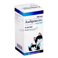 Амброксол-Рихтер <b>сироп 6мг</b>/<b>мл</b> фл. 100мл купить по низким ...