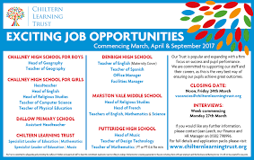 current vacancies job vacancies chiltern learning trust application form guidelines · challney high school for boys head of geography teacher of geography