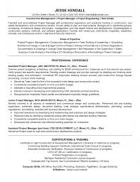 associate project manager resume resume samples for project managers