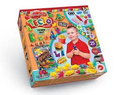 <b>Тесто для лепки Danko</b> Toys MASTER DO, Динозаврики, 25 цветов