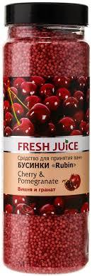 Fresh Juice Bath <b>Bijou</b> Rubin Cherry and Pomergranate - Бусинки ...