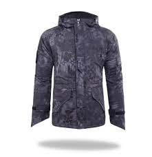 Men Outdoor Windproof Army Military Jacket G8 Python Camouflage ...