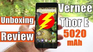 <b>Vernee Thor E</b> Review and Unboxing: <b>5020 mAh</b> Big Battery ...