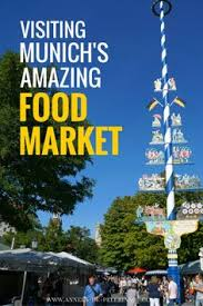 visiting munichs amazing gourmet food market the so called viktualienmarkt is located in the city blueberries viktualienmarkt munich visit