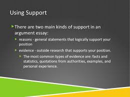 two kinds of essay argument essays  position  using supportthere are two