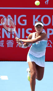Hong Kong s number one tennis player Zhang Ling targets big.