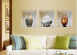 chinese style decor: chinese style ceramic vase vinyl wall stickers home decor decoration living room sitting room promotion d
