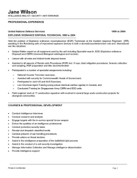 analyst resume intelligence analyst resume