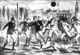 「1872, first in history the football international game betweeen england and scotland」の画像検索結果