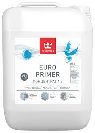 <b>Грунтовка</b> Tikkurila <b>Euro Primer</b> концентрат 1:3 — купить по ...