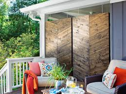 modern outdoor privacy screens