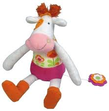 <b>Мягкая игрушка Ebulobo</b> Коровка Молли 30 см — Мягкие игрушки ...