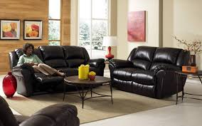 Of Living Rooms With Black Leather Furniture Excelent Living Room Design With Black Leather Sofa Radioritascom