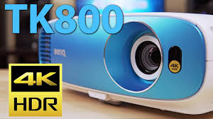 <b>BenQ TK800</b> Review - Budget 4K HDR Projector - YouTube