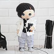 <b>Куклы</b> и пупсы: Текстильная <b>кукла</b> Кнопка – купить на Ярмарке ...