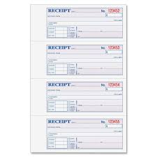 com adams money and rent receipt x inches  com adams money and rent receipt 7 63 x 11 inches 2 parts carbonless 4 per page 200 sets white and canary dc1182 receipt book office