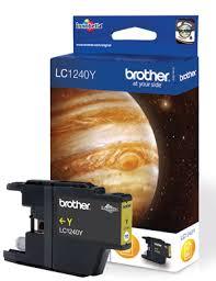 <b>Картридж Brother LC1240Y</b>, оригинальный, yellow (желтый ...