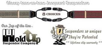 The new Patented Double-UPs Jacquard series <b>suspenders</b> from ...