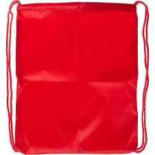 <b>Мешок для обуви №</b>1School <b>1</b> отд,полиэстер, 350x420 мм, красный