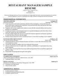 restaurant manager resume template   business articles   pinterest    restaurant manager resume template