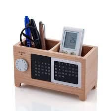 Artinova Wooden <b>Pencil Holder</b> Desk Supplies Organizer Pen Cup ...