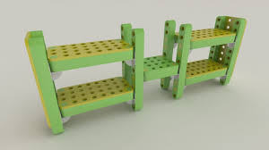 Lego Furniture Lego Furniture For Kids Rooms Out Door Panel Chrome Metal Legs